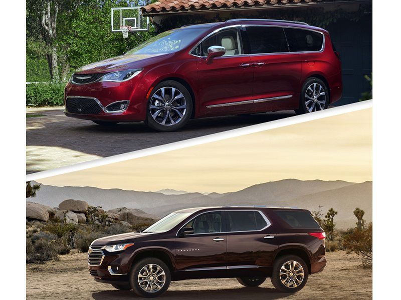 10 Differences Between a Minivan and an SUV
