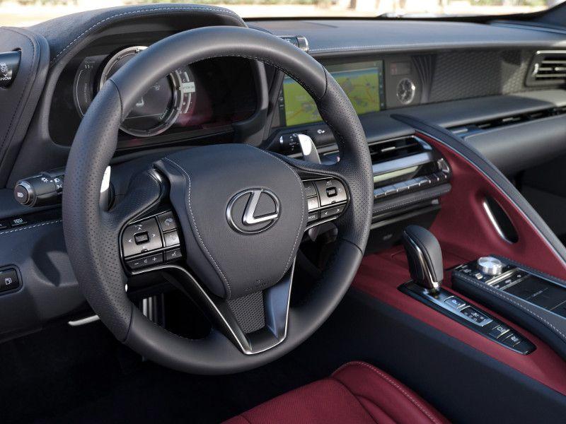 2019 Lexus Lc 500 Hybrid Road Test And Review Autobytel Com