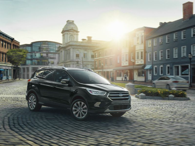 2019 Ford Escape Titanium in the city