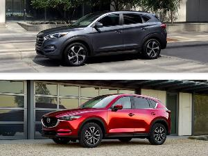 2018 Hyundai Tucson vs. 2018 Mazda CX-5: Which Is Best?