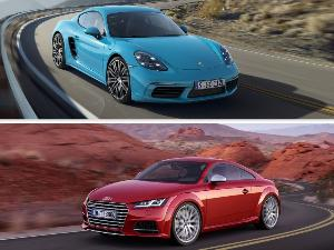 2019 Audi TT vs. 2019 Porsche Cayman: Which is Best?
