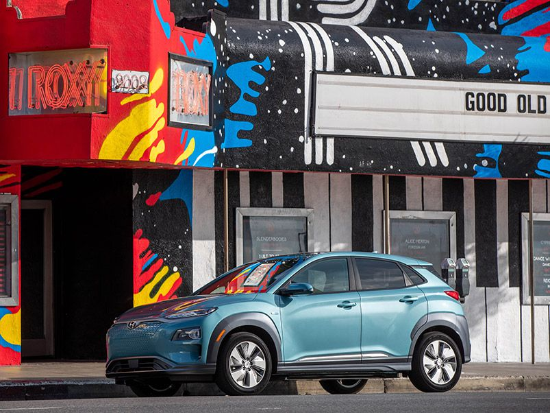 2019 Hyundai Kona Electric hero
