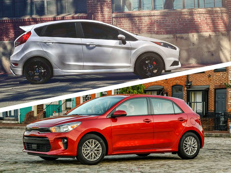 2019 Kia Rio vs. 2019 Ford Fiesta: Which Is Best?