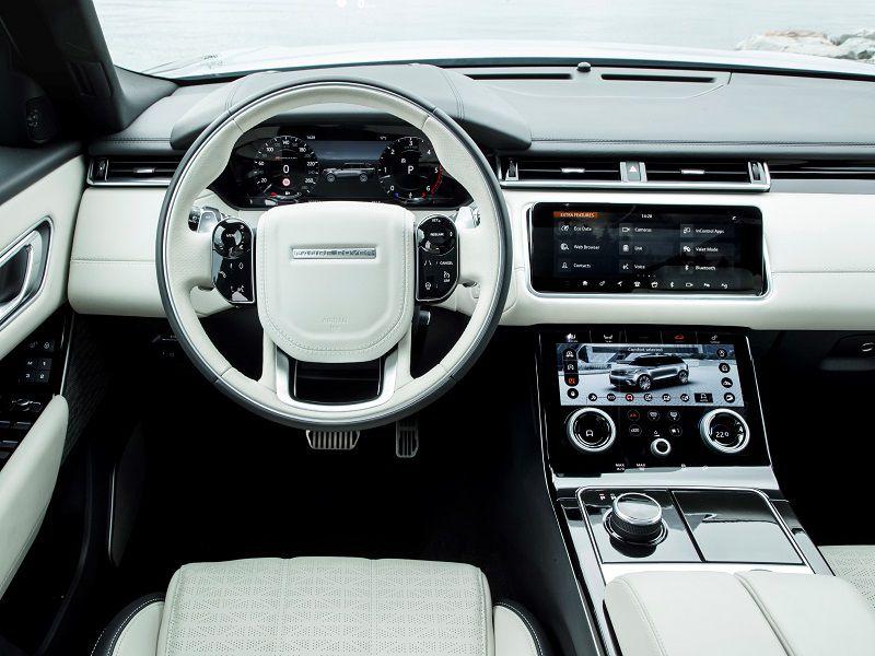 interior design the cabin of any range rover