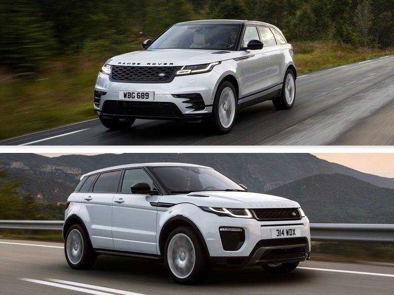 2019 Range Rover Velar vs. 2019 Range Rover Evoque: Which is for you?