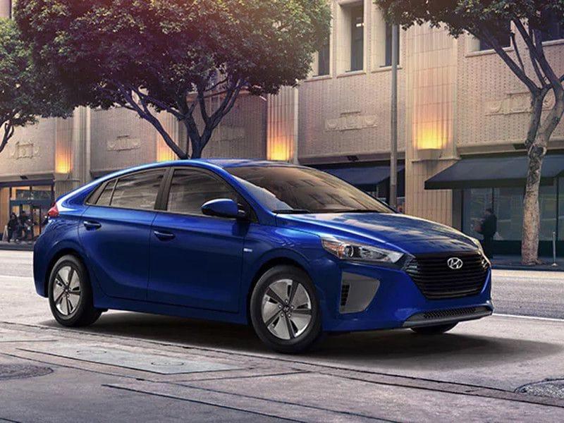 2019 Hyundai Ioniq Blue