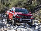 2019 Chevrolet Colorado ZR2 Bison front three quarter hero