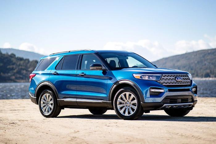 sneak preview the 2020 ford explorer is coming. Black Bedroom Furniture Sets. Home Design Ideas