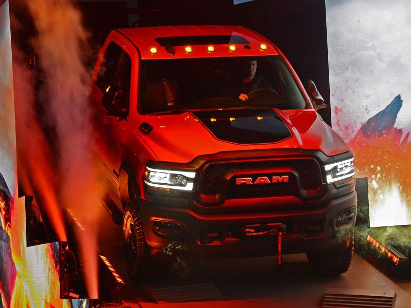 RAM reveal at NAIAS 2019