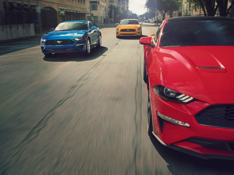 2019 Ford Mustang Trio Hero