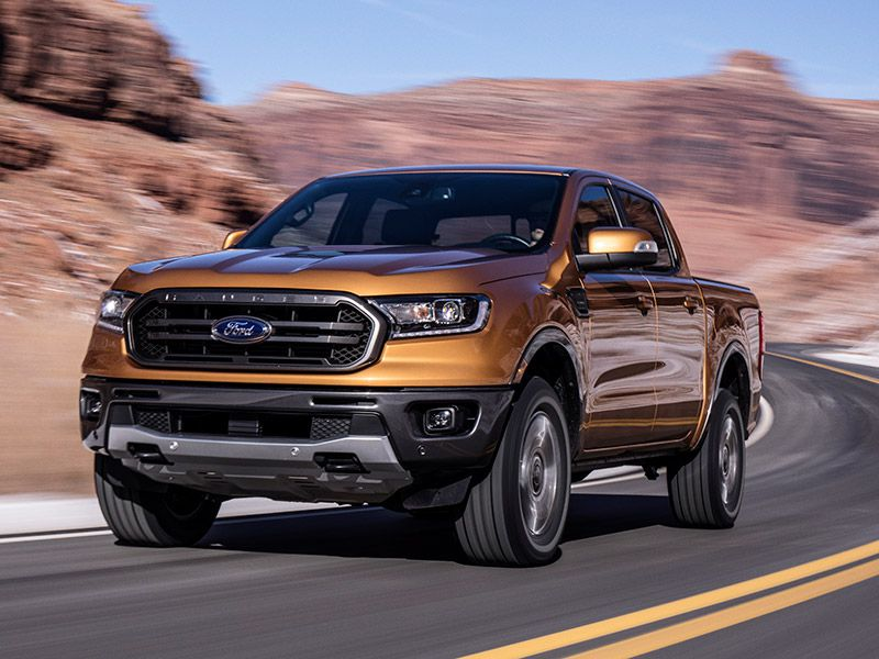 2019 Ford Ranger front three quarter