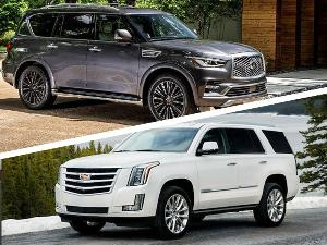 2019 Cadillac Escalade vs. 2019 Infiniti QX80: Which is Best?