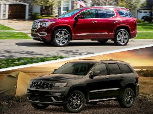 2019 Jeep Grand Cherokee vs. 2019 GMC Acadia: Which is Best?