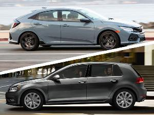 2019 Volkswagen Golf vs. 2019 Honda Civic: Which is Best?