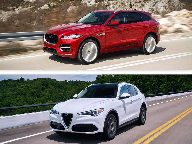 2019 Alfa Romeo Stelvio vs. 2019 Jaguar F-PACE: Which Is Best?