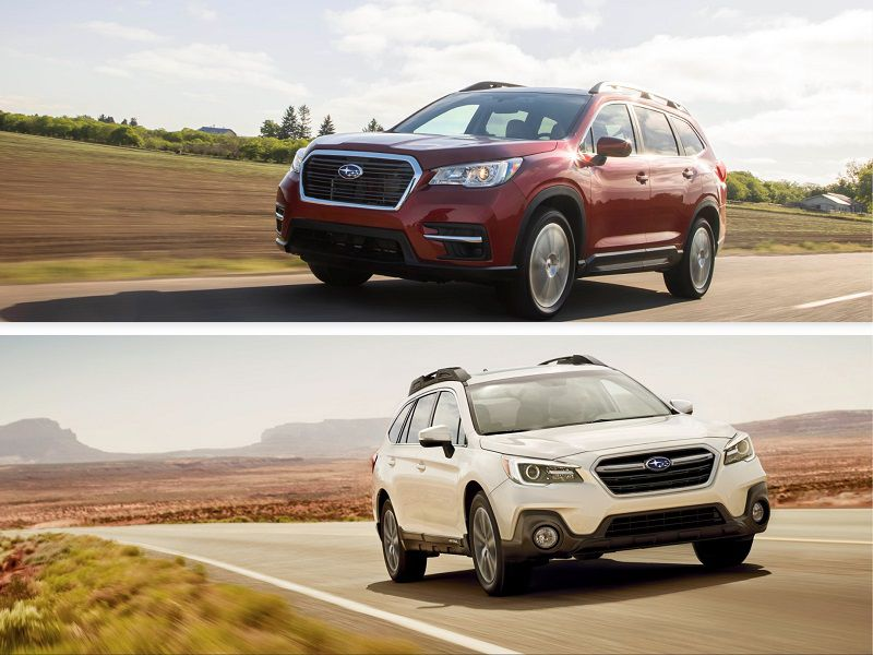 2019 Subaru Ascent Outback HERO 2