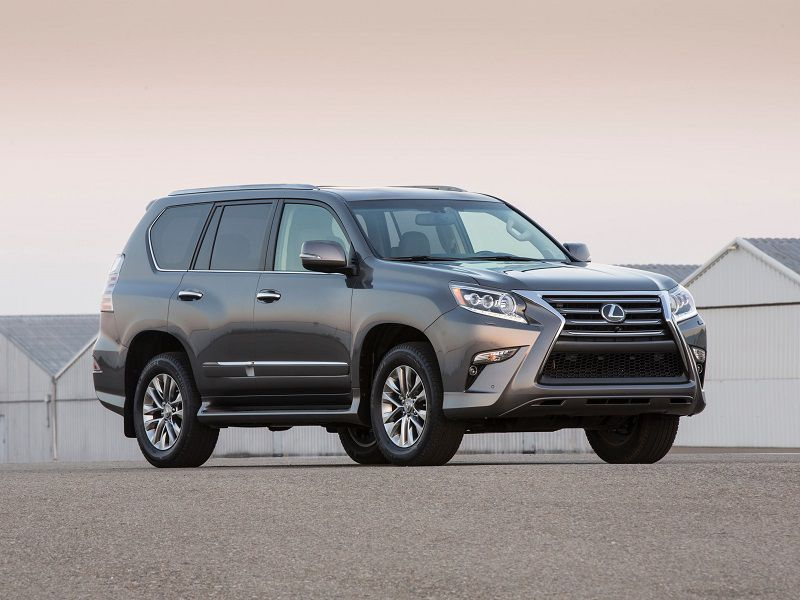2019 Lexus GX 460 Gray Front Three Quarter