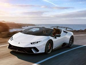 2019 Lamborghini Huracan Performante Spyder Road Test and Review