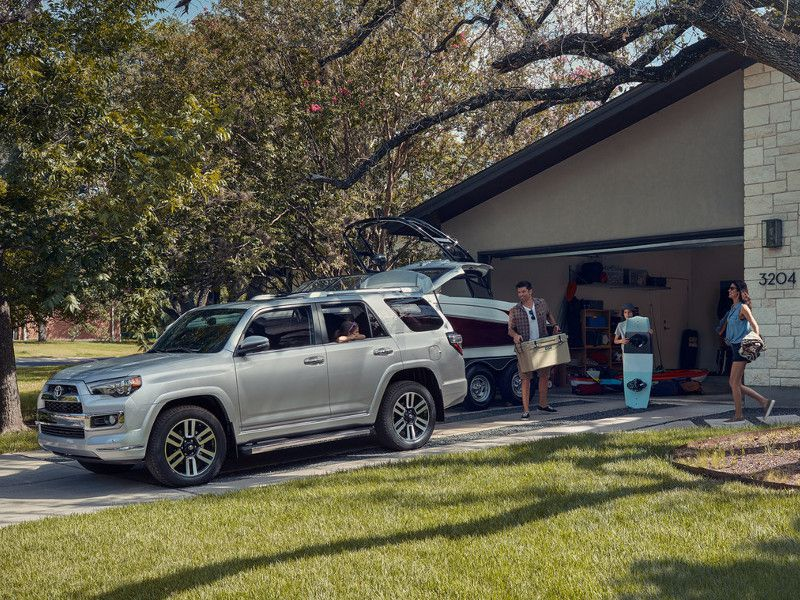 2019 Toyota 4Runner Limited silver family1