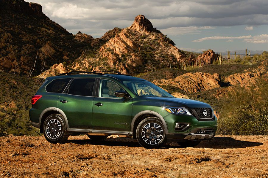 2019 Nissan Pathfinder Rock Creek 900x600