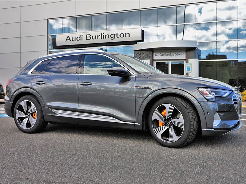 2019 Audi eTron Burlington dealership