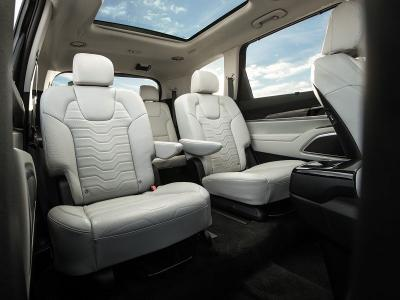 Awe Inspiring 10 Suvs With Second Row Captains Chairs Autobytel Com Camellatalisay Diy Chair Ideas Camellatalisaycom