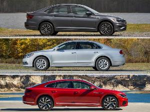 2019 Volkswagen Arteon vs. Passat vs. Jetta: Which is for you?