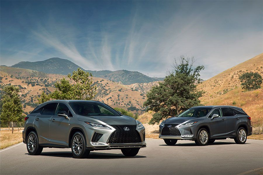 First Look: 2020 Lexus RX and RXL