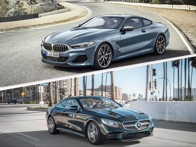 2019 Mercedes Benz S Class Coupe BMW 8 Series Coupe