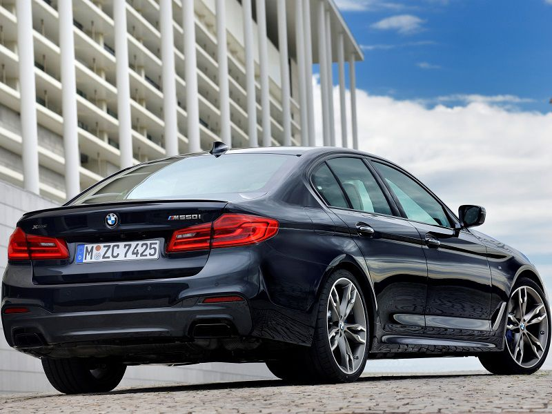 2020 Bmw M550 Road Test And Review Autobytel Com