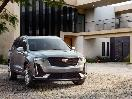 2020 Cadillac XT6 Sport silver parked