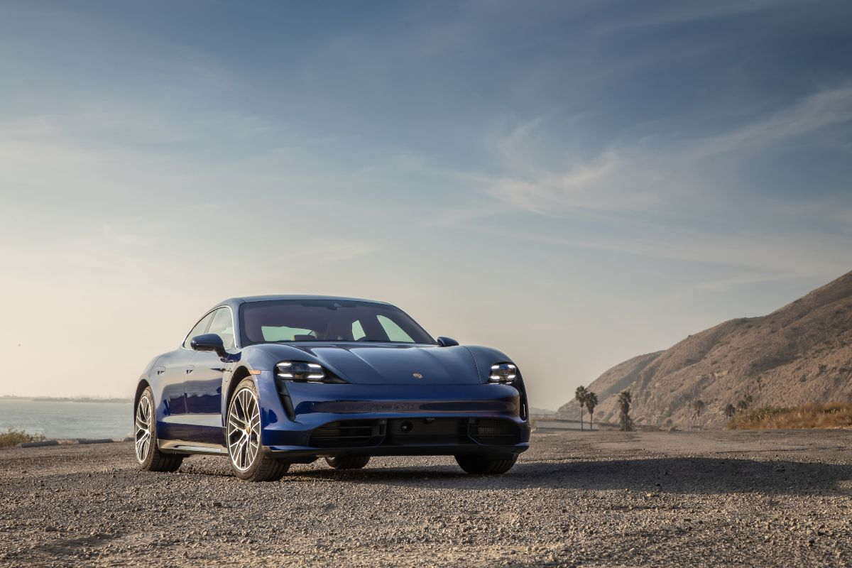 Porsche revealed its first EV in Toronto Canada