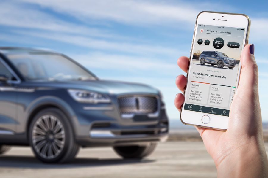 Lincoln Aviator Phone as a Key 900x600