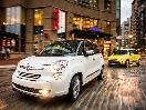 2017 Fiat 500L Driving Front Three Quarter