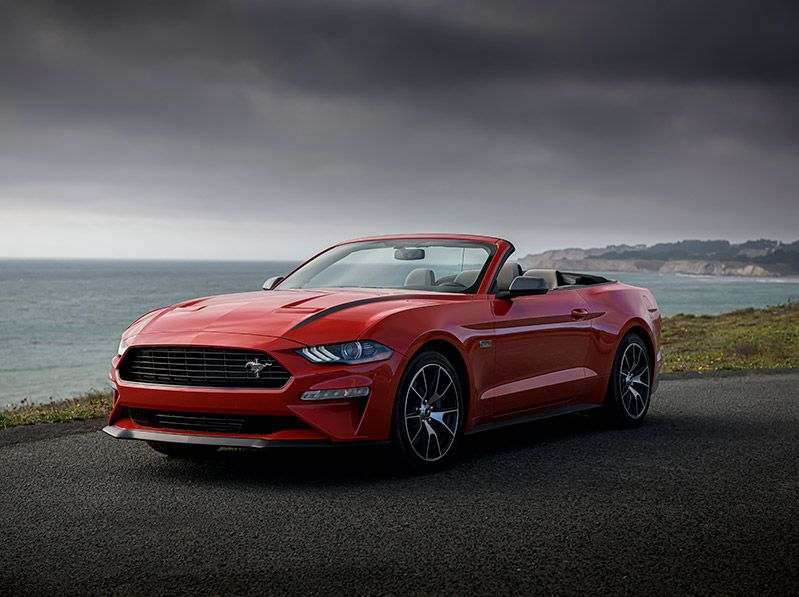 2020 Ford Mustang HPP hero