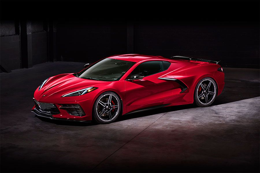 2020 Chevrolet Corvette Stingray front angle