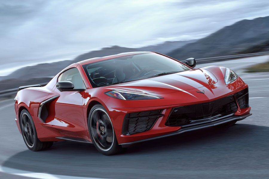 2020 Chevrolet Corvette Stingray handling