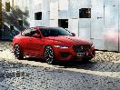 2020 Jaguar XE red parked