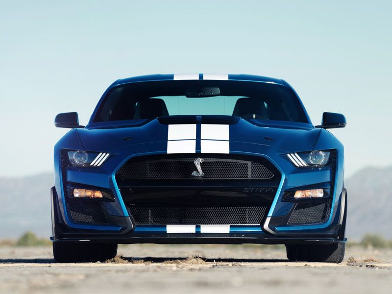 2020 Ford Mustang Shelby GT500 exterior front grille