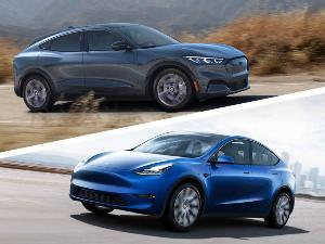 2021 Ford Mustang Mach-E vs. 2021 Tesla Model Y