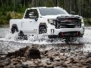 2020 GMC Sierra HD AT4 White Off Road