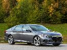 2020 Honda Accord Grey Front Three Quarter