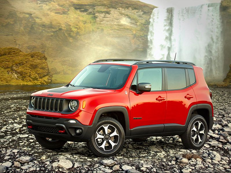 2020 Jeep Renegade hero