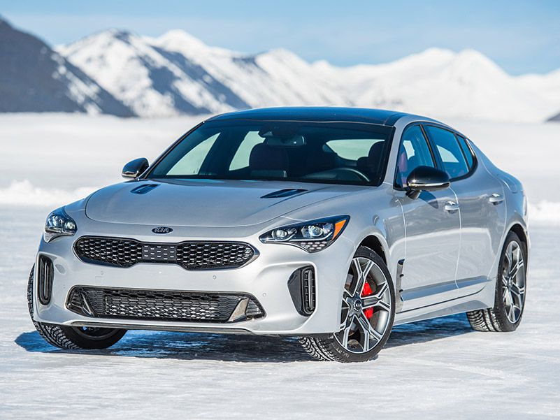 2020 Kia Stinger front three quarter