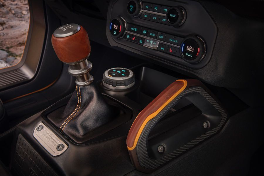3. There's an available manual transmission.