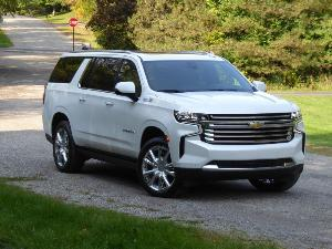 2021 Chevrolet Suburban Road Test and Review