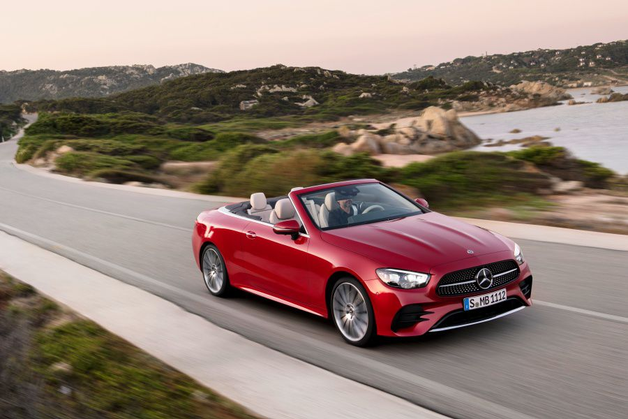 2021 Mercedes E-Class Convertible Road Test and Review