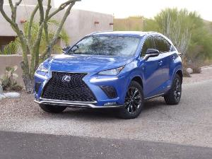 2021 Lexus NX 300h Road Test and Review