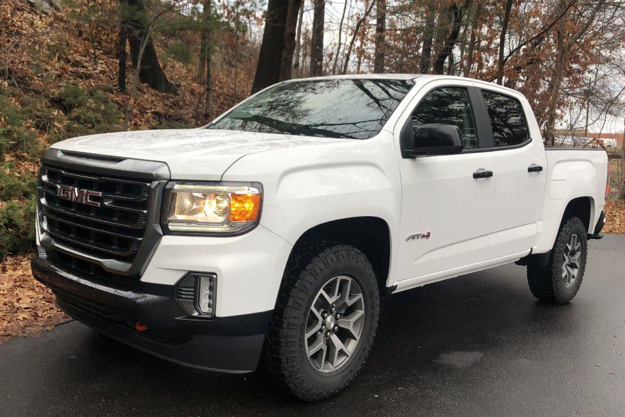 2021 GMC Canyon AT4 Front