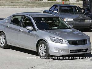 2008 Honda Accord Sedan Spy Photos